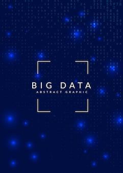 Sztuczna inteligencja. abstrakcyjne tło. technologia cyfrowa, koncepcja głębokiego uczenia się i dużych zbiorów danych. wizualizacja techniczna dla szablonu komunikacji. nowoczesne tło sztucznej inteligencji.