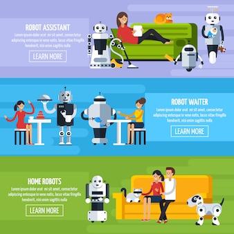 Sztuczna inteligencja poziome banery