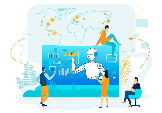 Sztuczna inteligencja w analityce biznesowej.