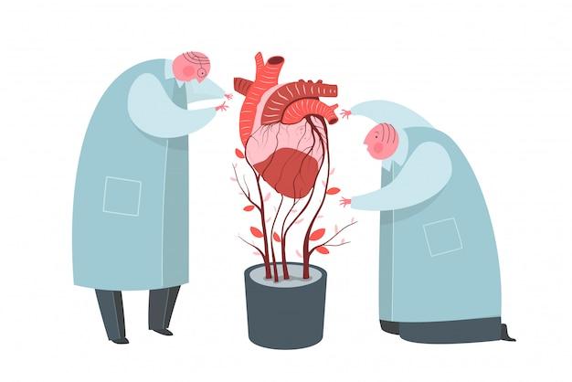Sztuczne serce rośnie płasko