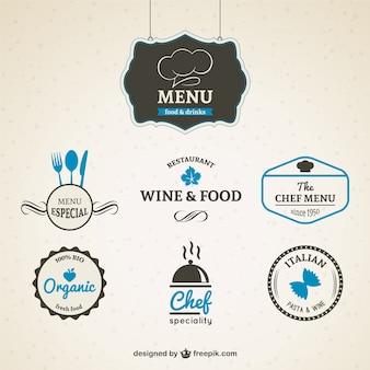 Sztuk odznaki restauracyjnych