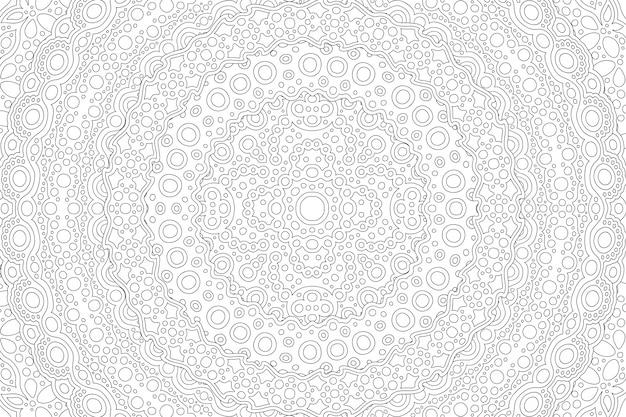Sztuka dla kolorowanka z liniowym wzorem