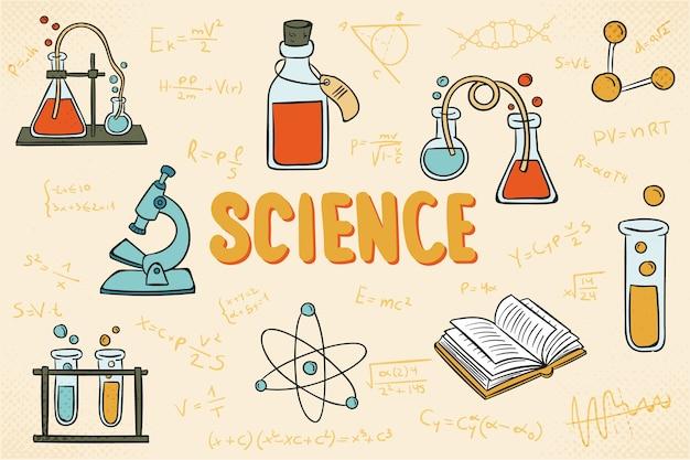 Sztuka nauki edukacji tło