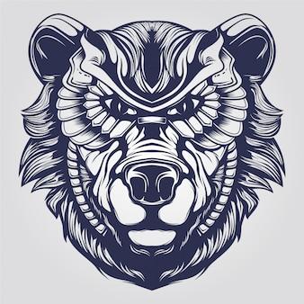 Sztuka niedźwiedzia