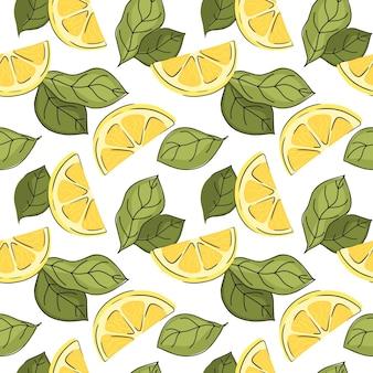 Sztuka tło botaniczny jasny cytrusowy kolor dekoracja projekt tkanina tkanina wzór jedzenie f