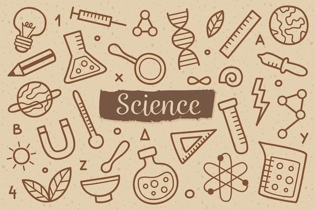 Sztuka tło nauki