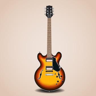 Sztuka wektor gitara elektryczna