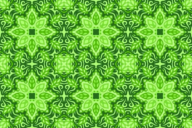 Sztuka z kwiatowy wzór bez szwu płytek