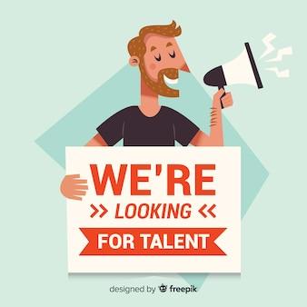 Szukasz talentu w tle