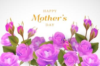 Tło kwiatowy dzień matki