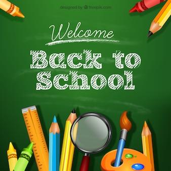 Tło powrót do szkoły