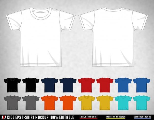 T shirt dziecięcy zestaw kolor