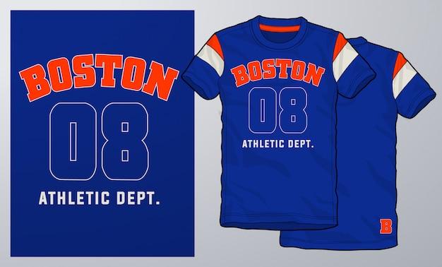 T-shirt i odzież nowoczesny design, typografia.