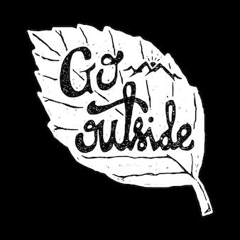 T-shirt z grafiką nature wild line