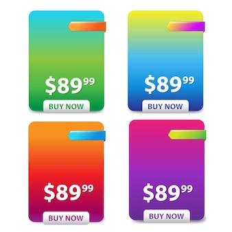 Tabela cen 4 kolorów