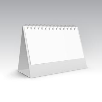 Tabela pusty stojak uchwyt menu papierowa karta kalendarza