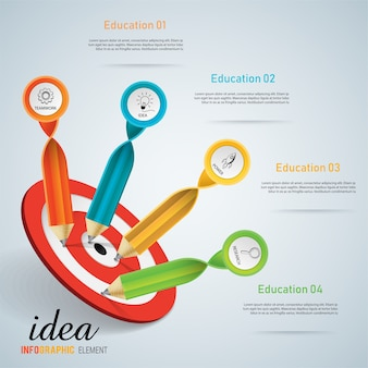 Tablica edukacyjna do sukcesu dla ucznia