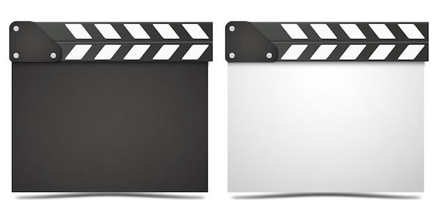 Tablica klapy realistyczne filmu.