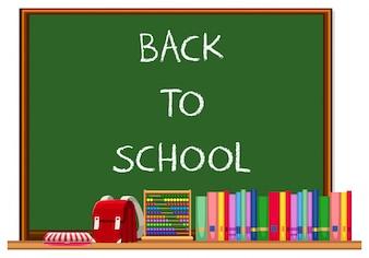 Tablica Powrót do szkoły