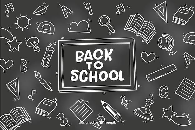 Tablica z powrotem do szkoły