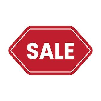 Tag promocyjny odznaka sprzedaż wektor