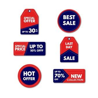 Tag promocyjny sprzedaż najlepsza sprzedaż