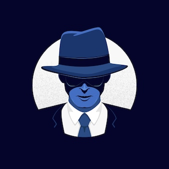 Tajemnicza postać gangsterska