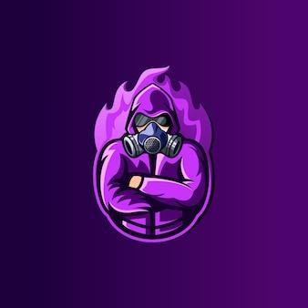 Tajemniczy projekt logo e-sportu