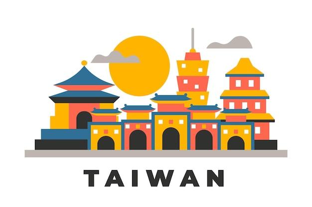 Tajwan słowo z zabytkami