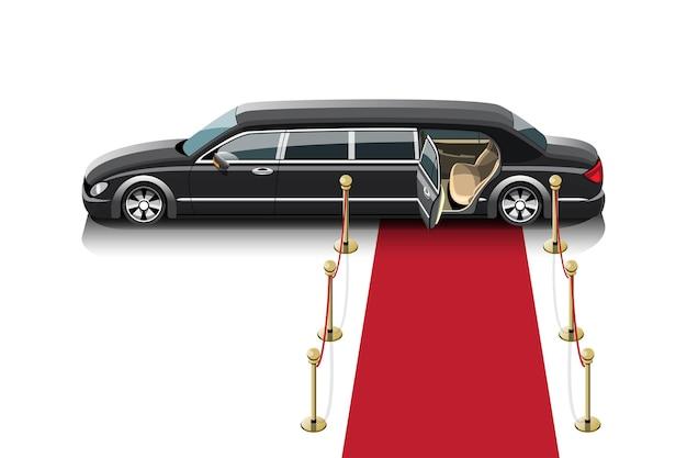 Taksówka limuzyna dla specjalnych pasażerów