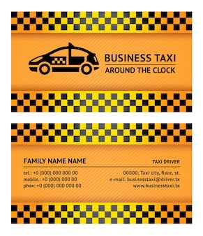 Taksówka z wizytówką