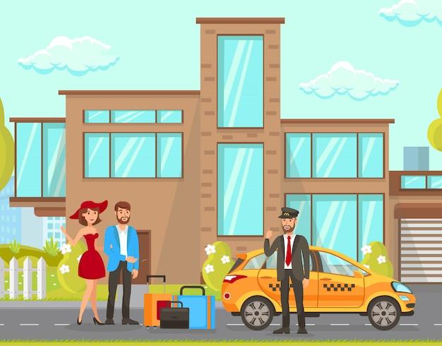 Taksówki i usługi kierowcy