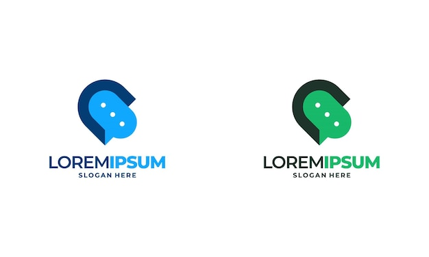 Talk point logo projektuje koncepcję ilustracji wektorowych, doradztwo projektuje logo koncepcja szablon symbol ikona