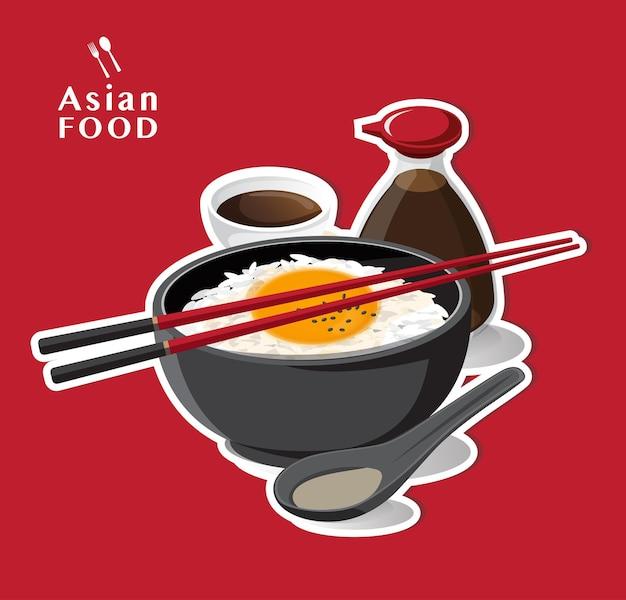 Tamago kake gohan, ryż z surowym jajkiem