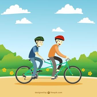 Tandem rower