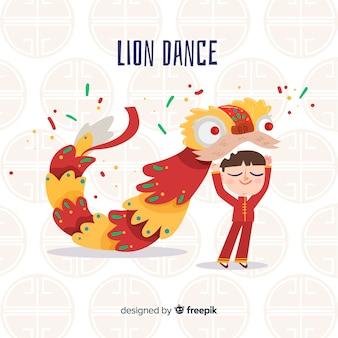 Taniec lwa