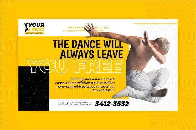 Taniec szablon transparent
