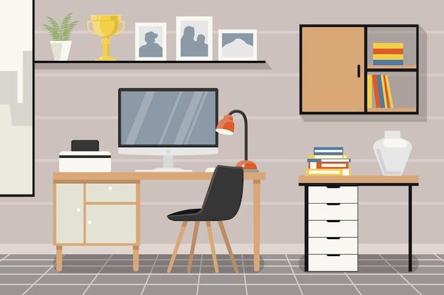 Tapeta biurowa do wideokonferencji