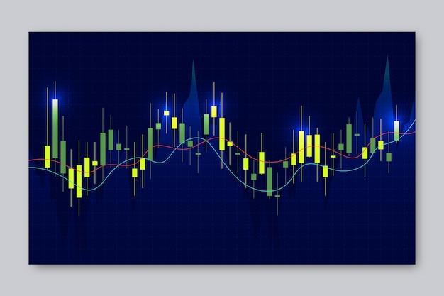 Tapeta handlowa na rynku forex neon