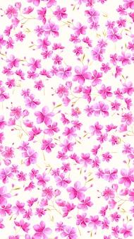 Tapeta na ekranie mobilnego akwarela kwiatowy