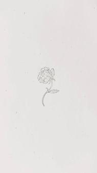 Tapeta na telefon komórkowy ze złotym kwiatem