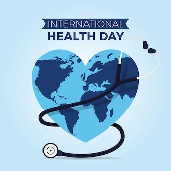 Tapeta na temat światowego dnia zdrowia