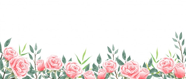 Tapeta ogrodowa róż