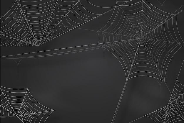 Tapeta pajęczyna halloween