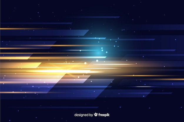 Tapeta streszczenie ruchu światła