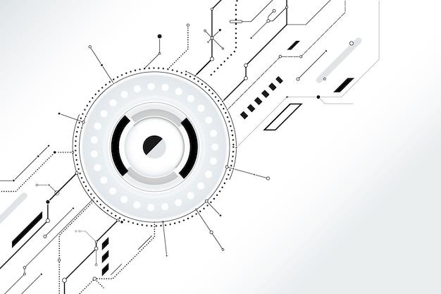 Tapeta w białej technologii