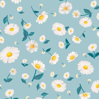 Tapeta wzorzysta daisy
