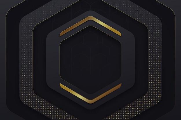 Tapeta z geometrycznymi kształtami