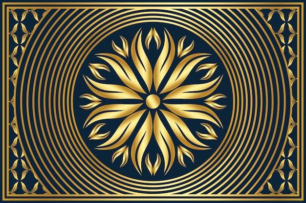 Tapeta z luksusowym tłem mandali