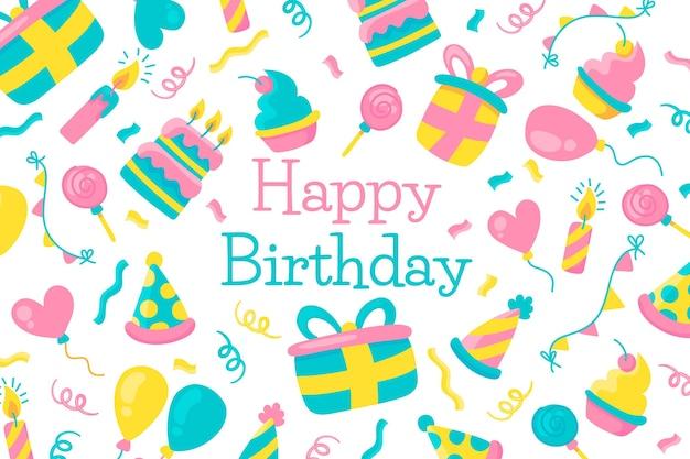 Tapeta z okazji urodzin